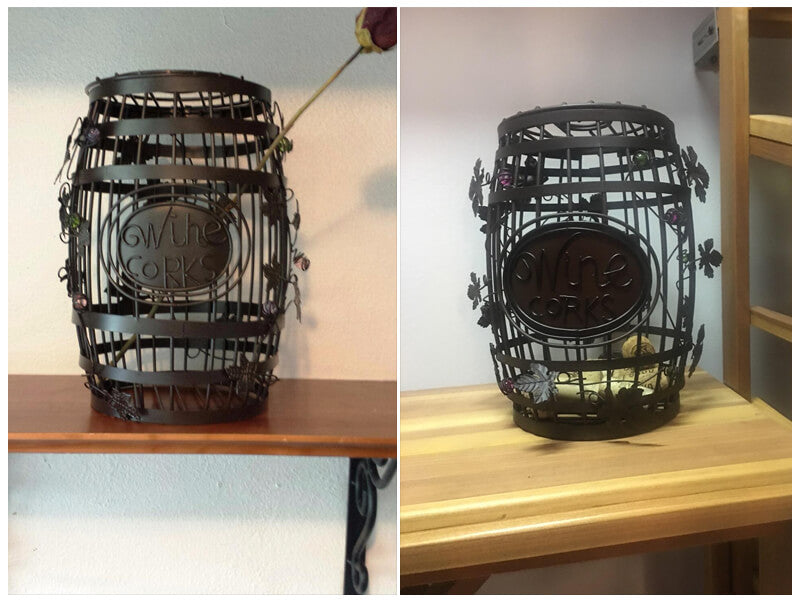 Epic Products Wine Barrel Cork Cage review