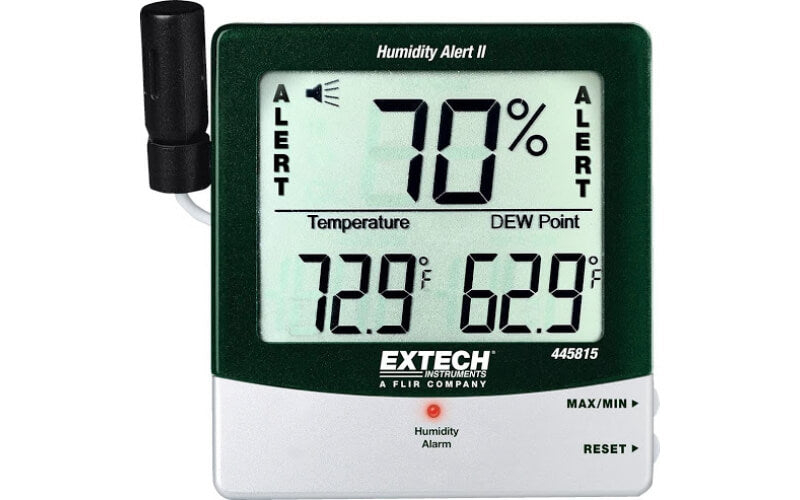Extech Digital Thermometer and Humidity Meter