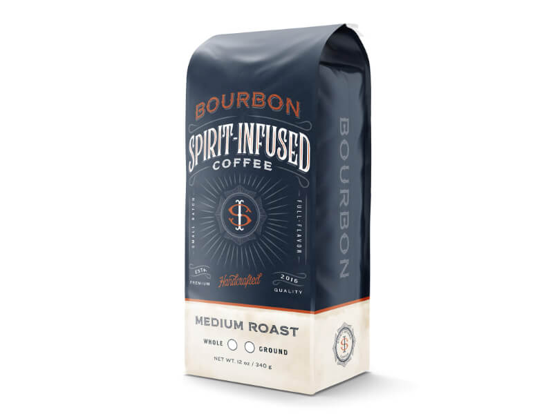 Fire Department Bourbon Infused Coffee