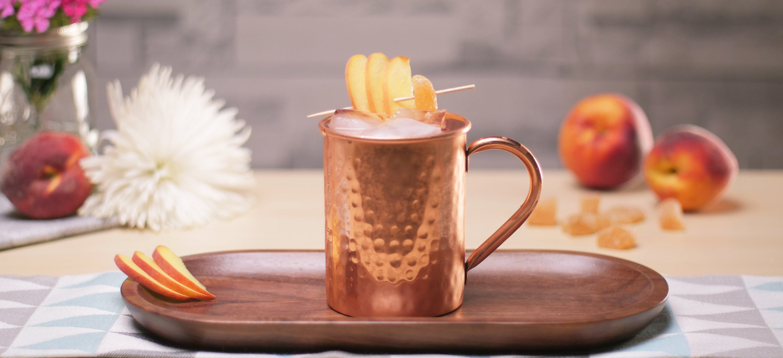 Georgia Mule (Peach and Ginger)