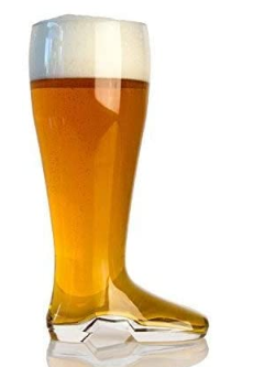 Glass Beer Boots
