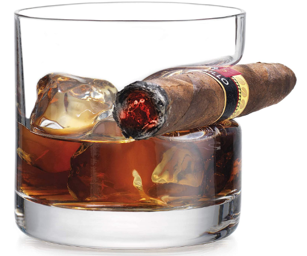 Godinger Cigar Whiskey Glass - AdvancedMixology