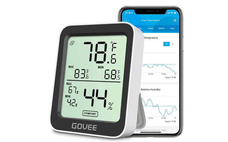 Govee H5075001 Hygrometer Thermometer