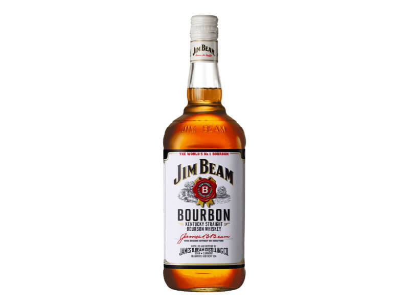 Jim Beam Bourbon Whiskey