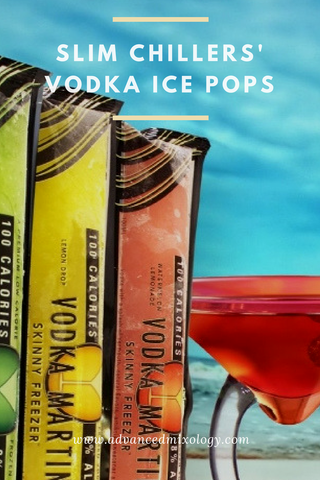 Cool Down With Slim Chillers Vodka Ice Pops Advanced Mixology