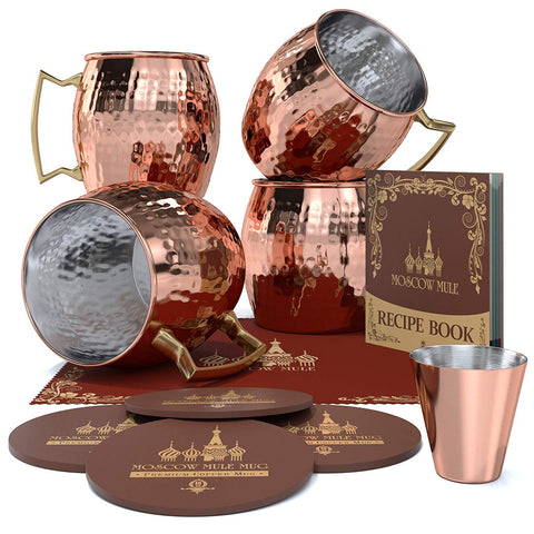 Krown Kitchen Copper Mugs