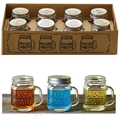 Mason Jar Shot Glasses - AdvancedMixology