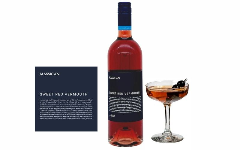Massican Sweet Red Vermouth 2018