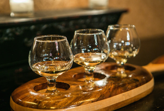 Tequila in snifters served for sipping - Image by Beverage Dynamics