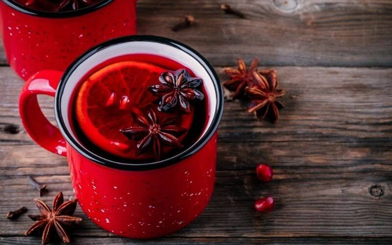 Mulled Pomegranate Warmer