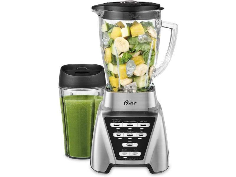 Oster Blender Pro 1200 with Glass Jar and 24-Ounce Smoothie Cup