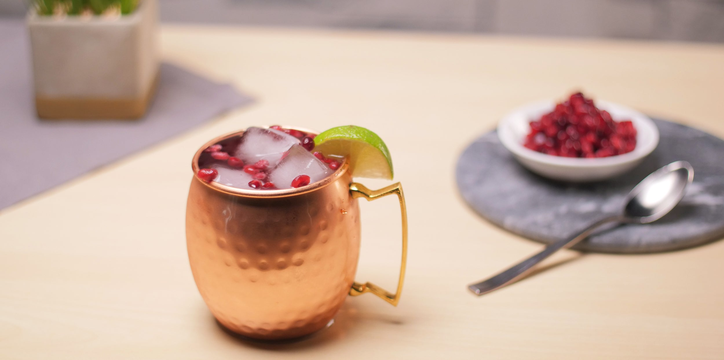 Pomegranate Mule Variation