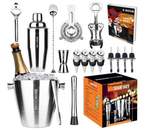 Premium Cocktail Set Mixology Kit for Bar and Home - AdvancedMixology