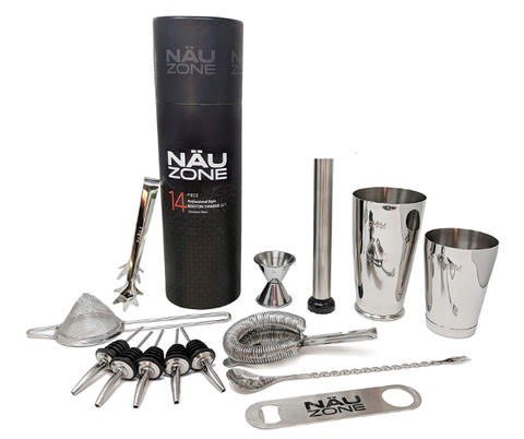 Professional Bartender Kit (14-Piece) - AdvancedMixology