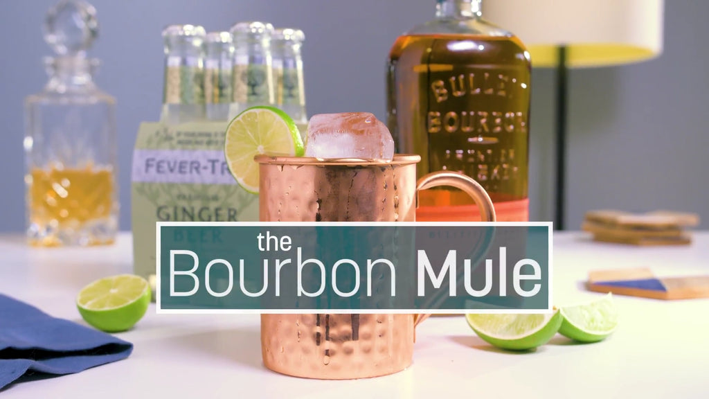 Bourbon Mule Cocktail Recipe