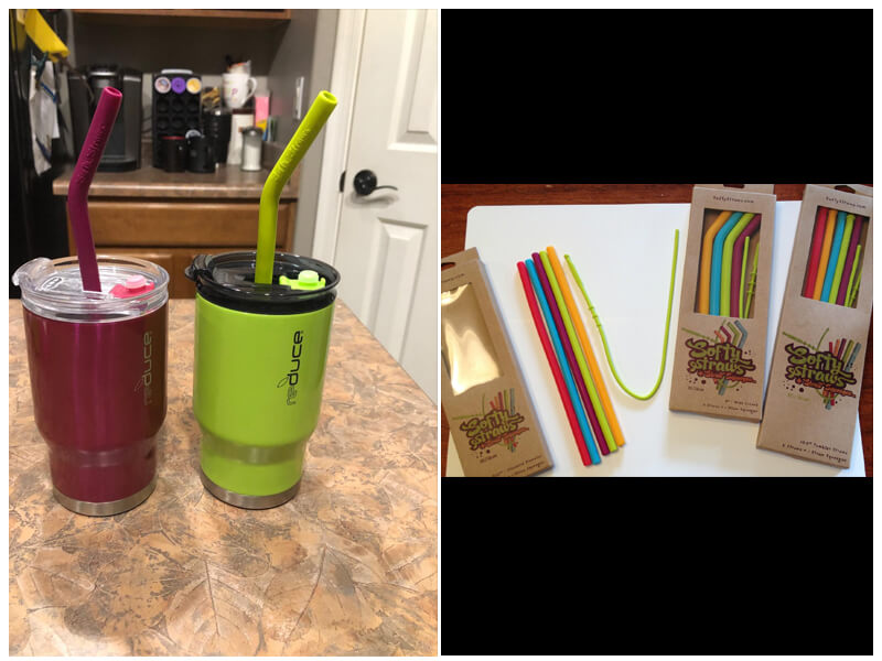 Softy Straws Big Size Reusable Drinking Straws with Curved Bend for Tumblers  review