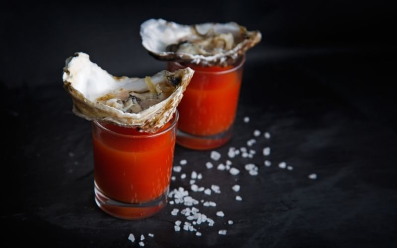 Spicy Oyster Cocktail