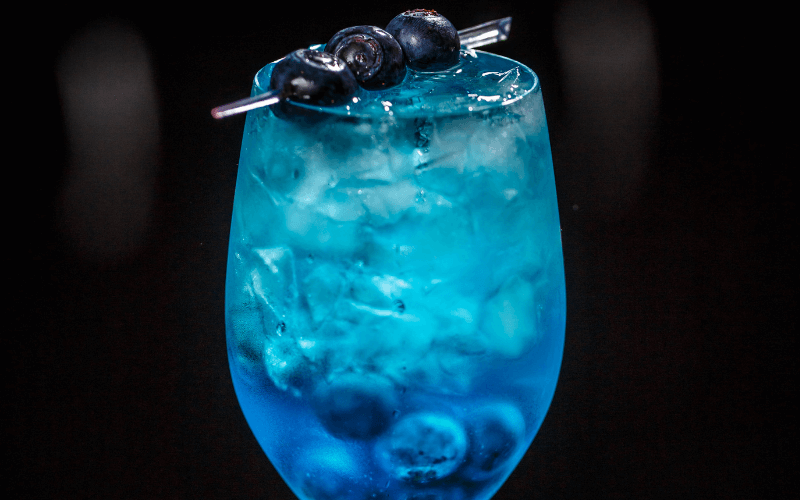 The Something Blue Cocktail