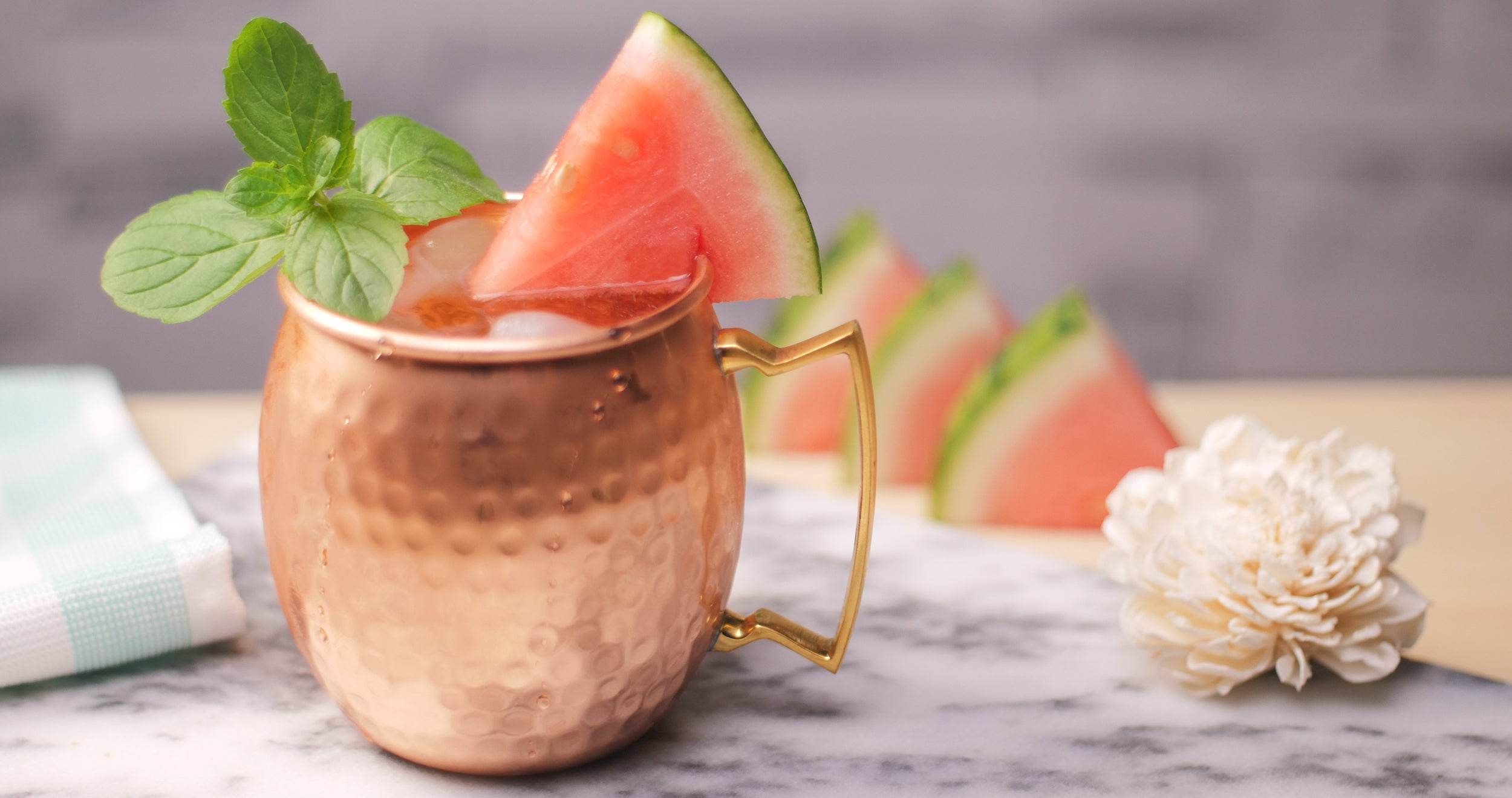 Moscow Water-Mule-on (Watermelon Mule Recipe)