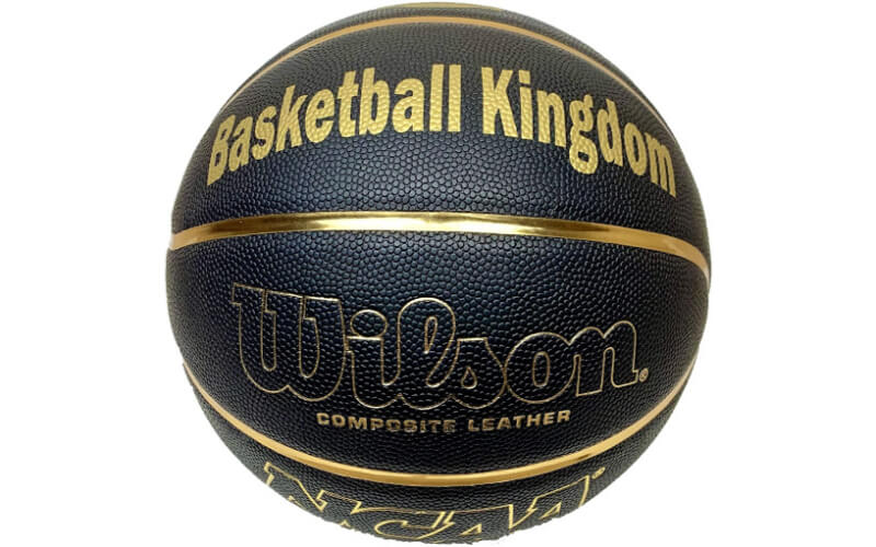 Wilson Personalized NCAA Black and Gold Basketball