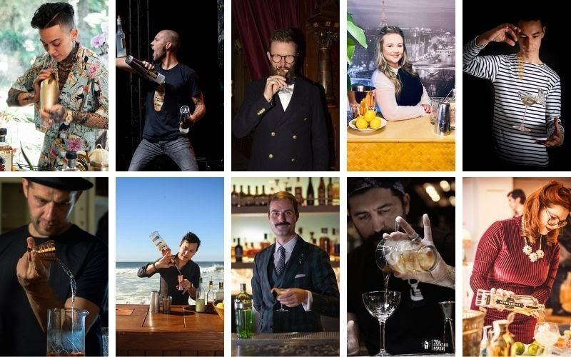 World's Best Mixologists in August 2021