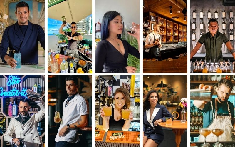 World's Best Mixologists of October 2021