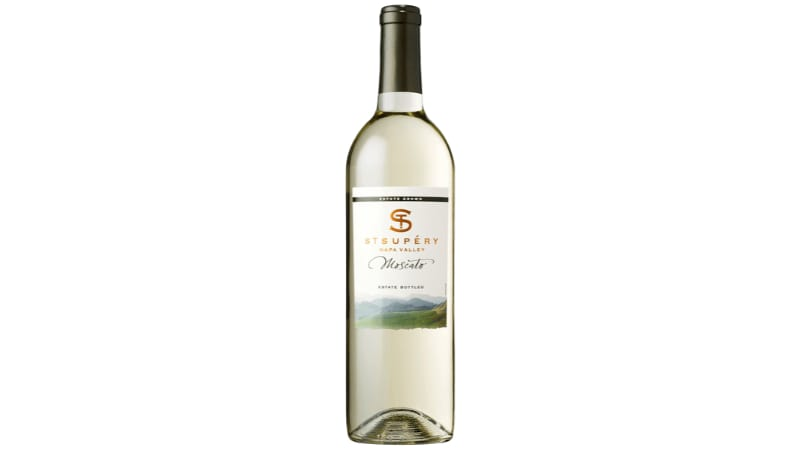 A bottle of St. Supery Moscato