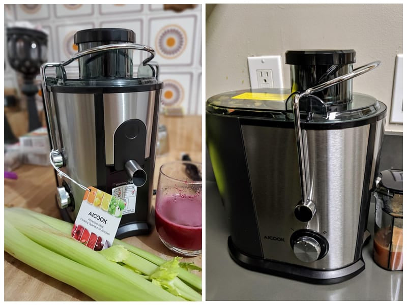 Aicook Compact Fruits & Vegetables Juicer  review