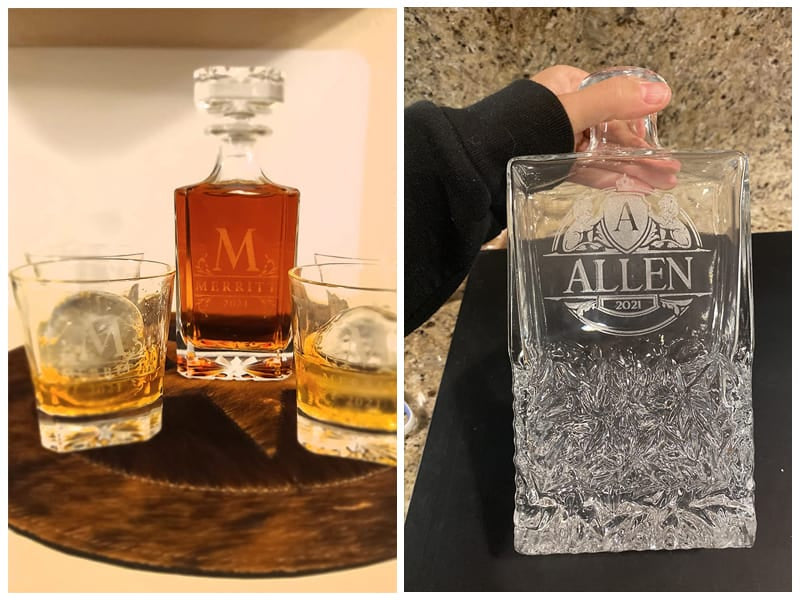 Amazing Items Personalized Whiskey Decanter Set with Box review