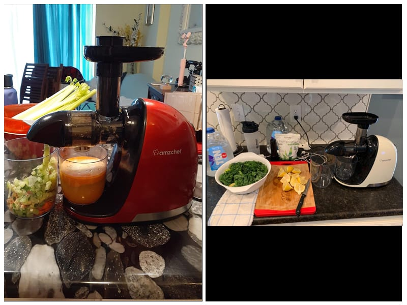 AMZCHEF Slow Masticating Juicer Extractor review