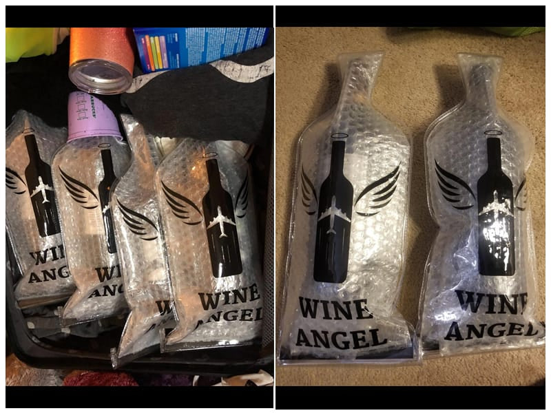 AOZITA Wine Bottle Travel Protector Sleeve review