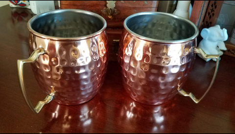 Artisan's Anvil Hammered Barrel Mug
