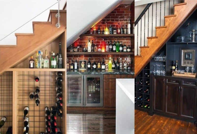 Bar Under the Stairs - Image by Nextluxury.com