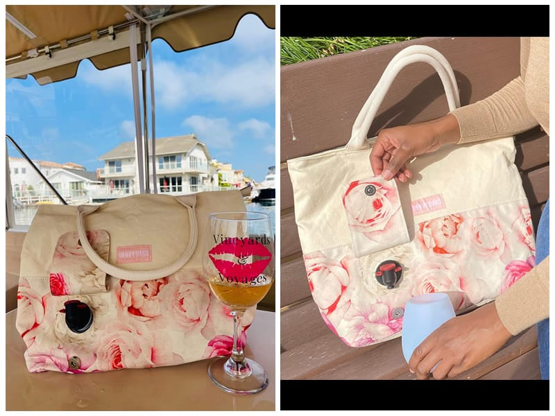 BB Bevvy Bags Wine Purse review