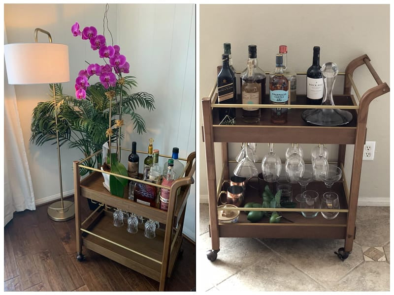 Best Choice Products Bar & Wine Service Cart review