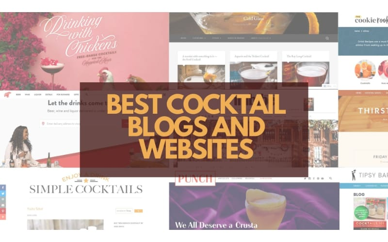 Best Cocktail Blogs and Websites