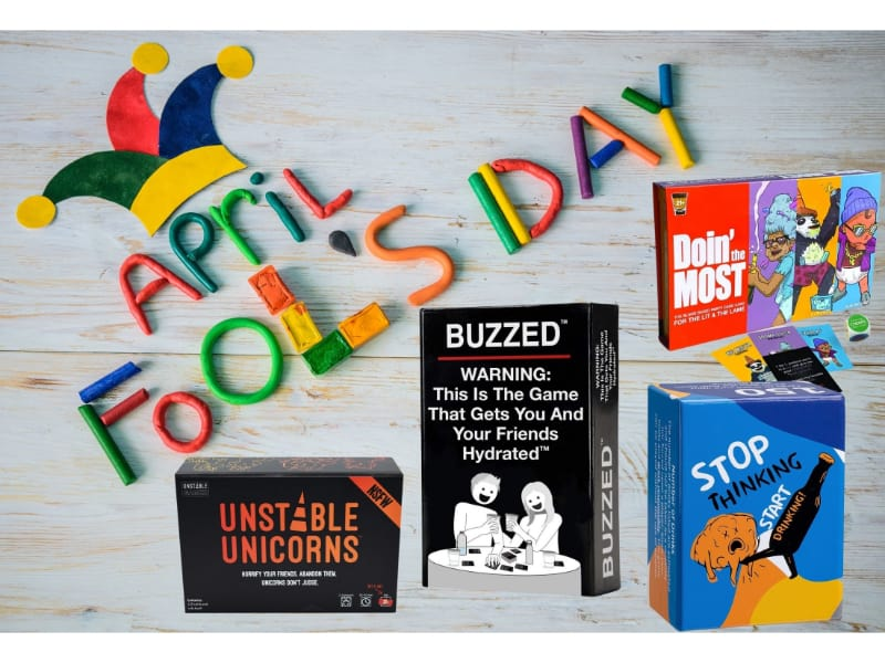 Best drinking card games for April Fool's Day