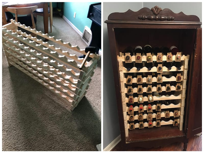 Beyond Your Thoughts Wooden Wine Rack  review