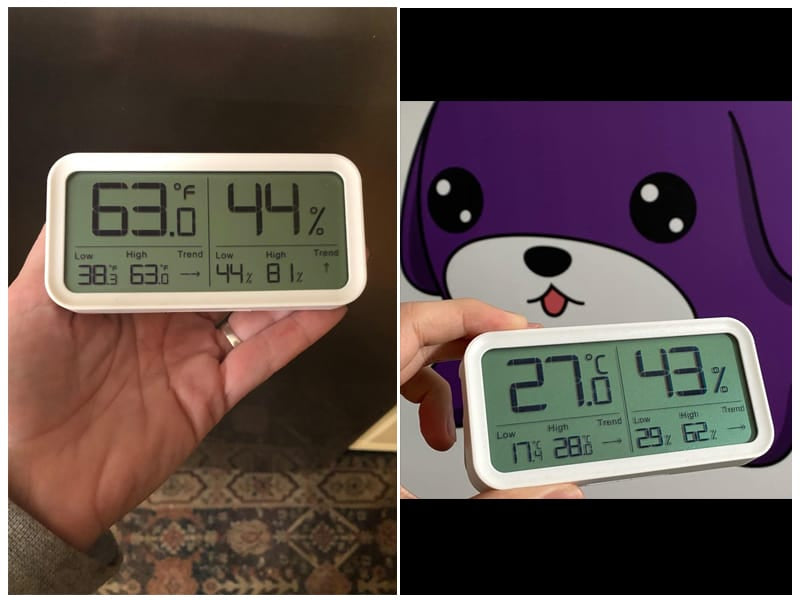 BFOUR Hygrometer Indoor Thermometer review