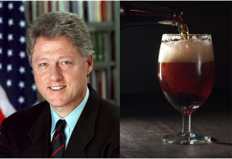 Bill Clinton and Snakebite