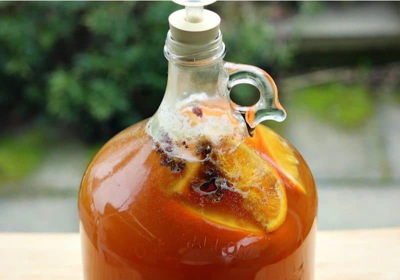 bubbly maple mead