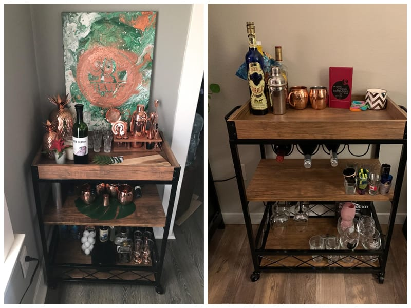 CharaVector Wine Serving Cart review