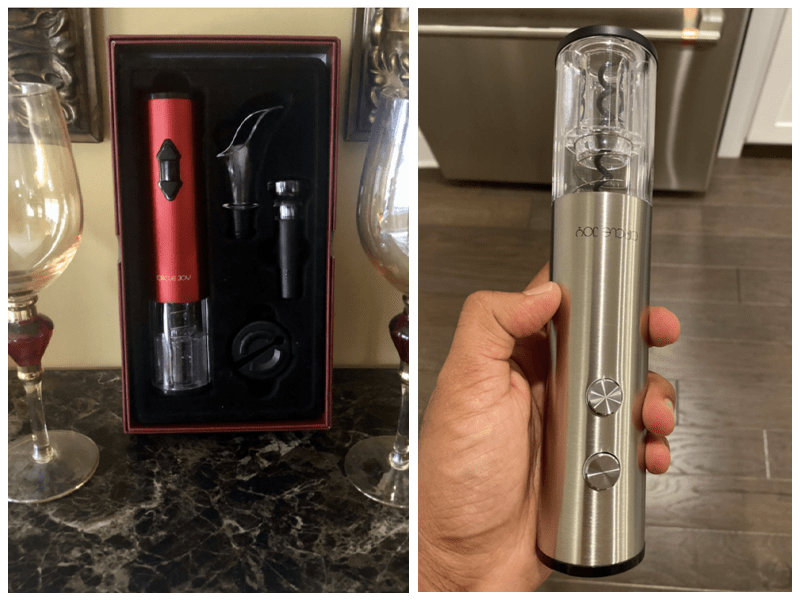 Circle Joy Electric Wine Bottle Opener Customer Review