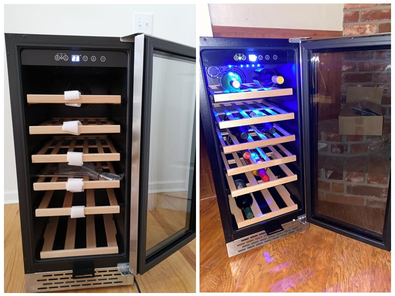 Colzer YC-100A Small Wine Cooler