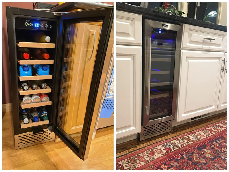 Colzer YC-60A Bottle Wine Cooler review