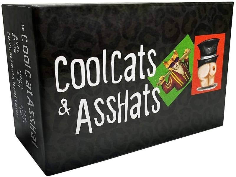 CoolCats & AssHats card game