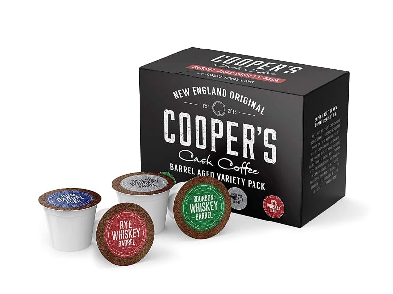 Cooper's Cask Bourbon Infused Coffee