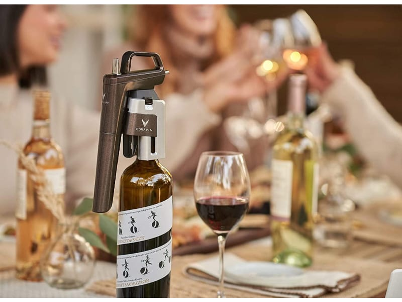 Coravin Model Six Advanced Wine Bottle Opener and Preservation System