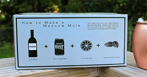 Crafts Moscow Mule Cups
