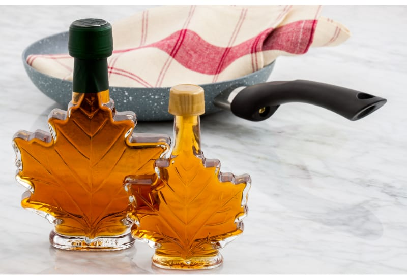 Delicious maple syrup